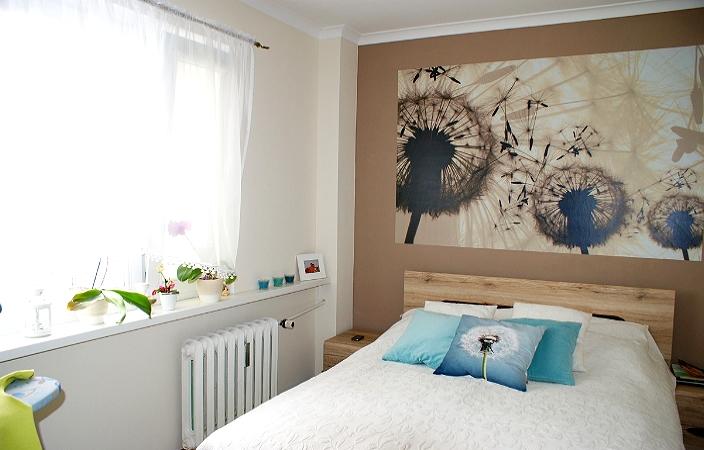 Спальня с организацией освещения