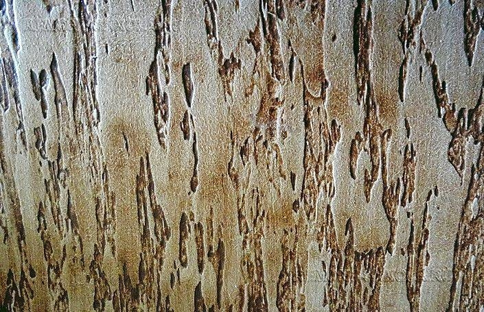 Декоративная штукатурка дерево на стене