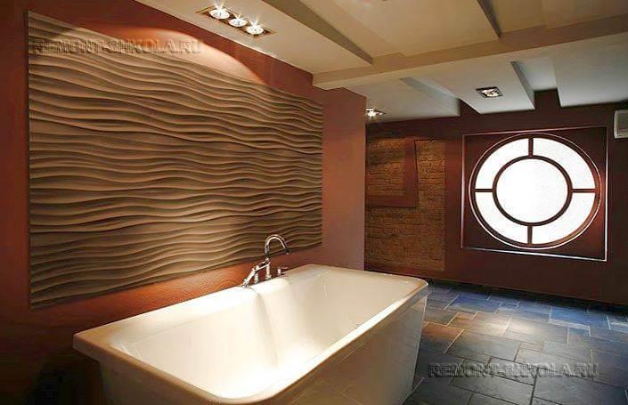 панели пвх с 3 д эффектом для ванной