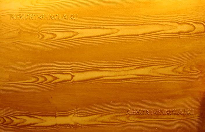 Покрытие имитирующее структуру дерева