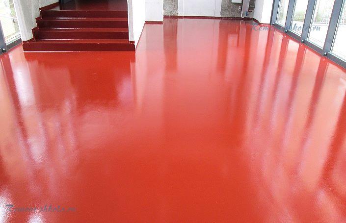 Моноуретан краска для бетона