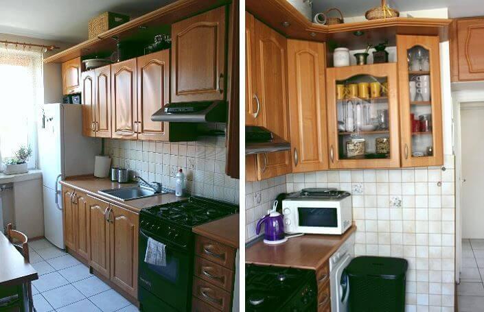 вид кухни до ремонта