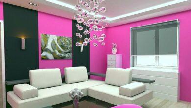 Фото Как быстро и красиво изменить стены в доме с помощью краски (акцент, шеврон, роспись и другое)