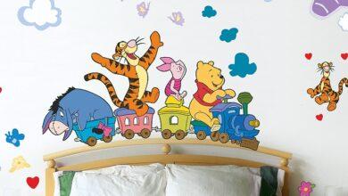 Фото Декоративные наклейки на стену — стикеры. Рекомендации по выбору, варианты, виды