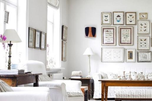 Деревянная мебель, много света, белый цвет в скандинавском дизайне