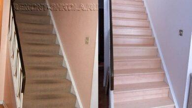 Фото Ремонт деревянной лестницы своими руками