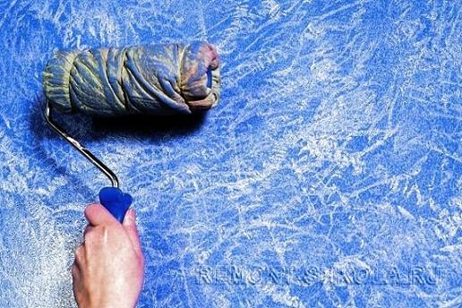 Самодельный валик для художественной покраски стен