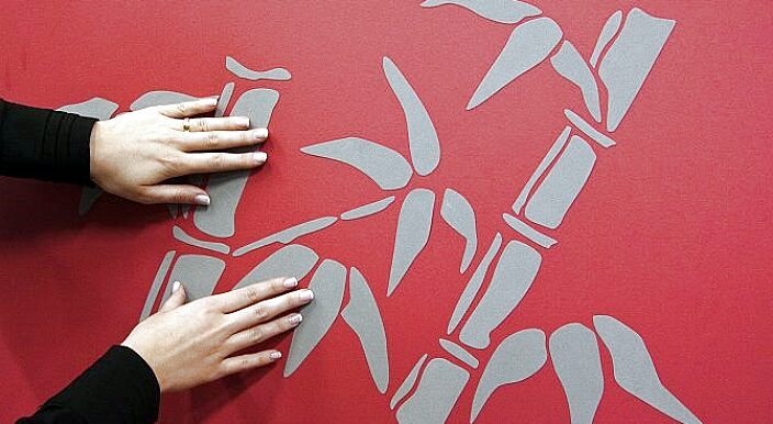 Мыть руки виниловые настенная наклейка