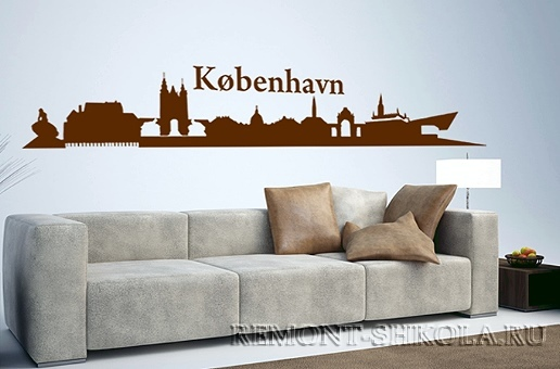 Наклейка Копенгаген