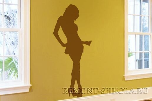 декоративные наклейки: Танцующая женщина