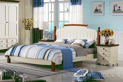 Вариант дизайна спальной комнаты