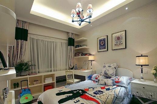 Дизайн спальни в телесных тонах