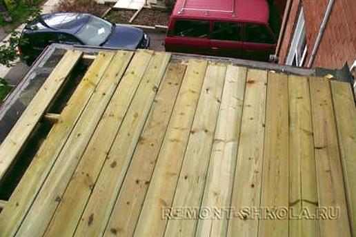 Деревянная терраса - террасная доска из сосны