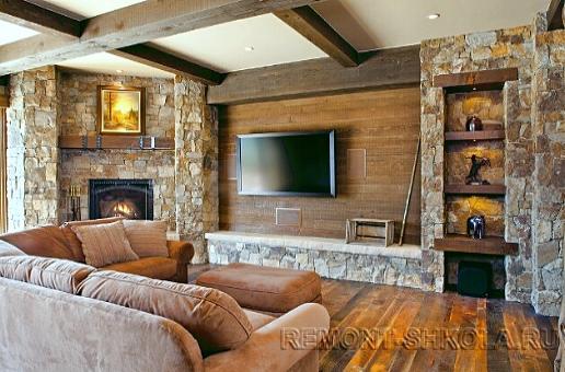 Уютная гостиная Вариант 14