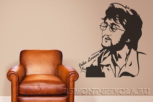 декоративные наклейки: Джон Леннон