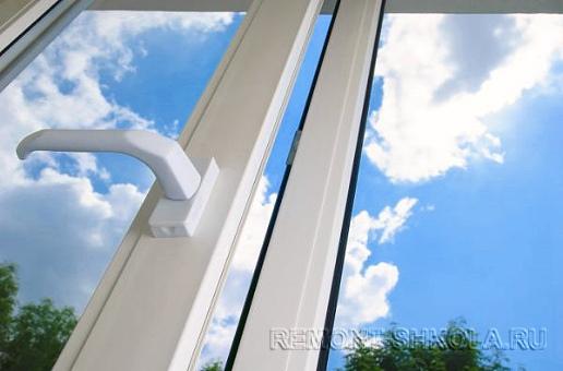 пластиковые окна: цвет белый