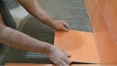 Фото Укладка плитки в ванной своими руками — 10 простых шагов с фото.