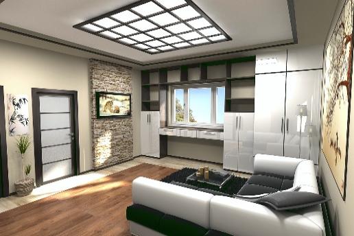 Встроенные шкафы, большое окно, «второй свет» в интерьере