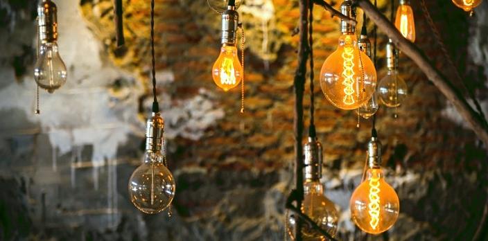 стильные электрические лампочки