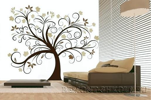 Наклейка волшебное дерево