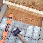 Укладка тротуарной плитки - брусчатки