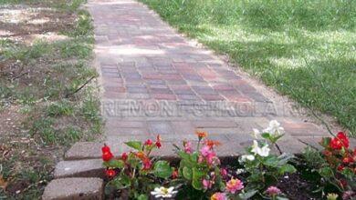 Фото Как просто сделать садовую дорожку из плитки на даче или участке — 5 шагов с фото
