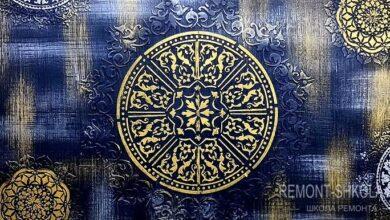 Фото Роскошный восточный декор стены от мастера из Египта