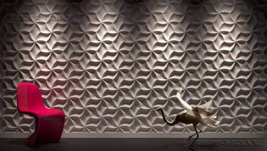 Фото 3д панели для стен в интерьере: фото, дизайн