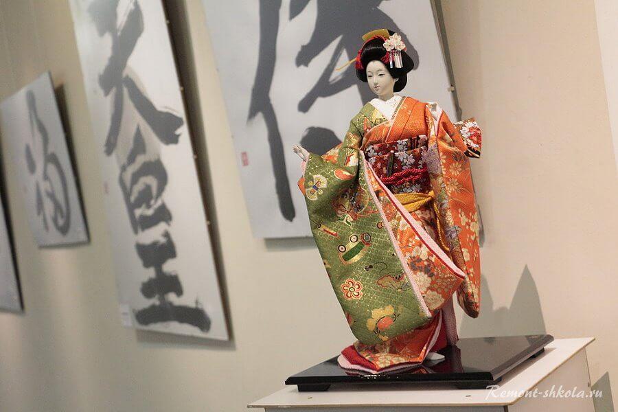 Аксессуары в японском стиле интерьера