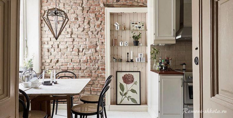 Гипсовая плитка под кирпич — стиль и уют нашего дома