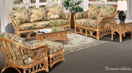 Мебель из ротанга и плетеная мебель: в чем разница?