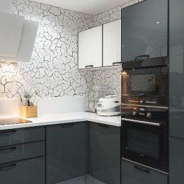 Актуальное сочетание цветов в интерьере кухни