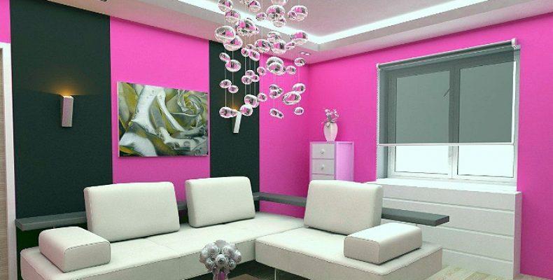 Как быстро и красиво изменить стены в доме с помощью краски (акцент, шеврон, роспись и другое)