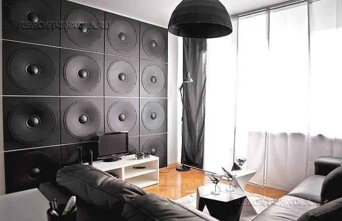 3d панели в интерьере гостиной фото
