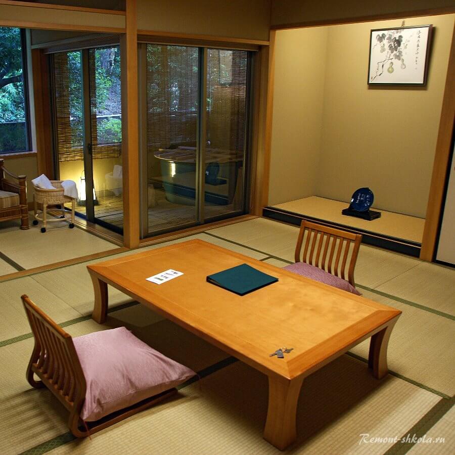 Цвета интерьера в Японском стиле