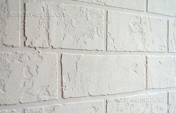 декоративная штукатурка в белом цвете фото