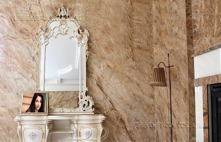 Декоративная штукатурка венецианка фото