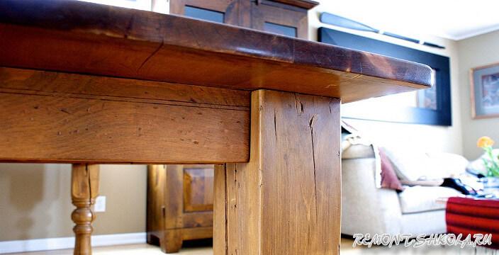 Мебель из дерева непринужденность и эксклюзивность в интерьере