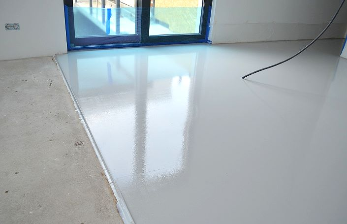 Эпоксидная краска для бетона и бетонного пола