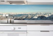Фото Фартук для кухни из пластика — быстрое преображение вашей кухни