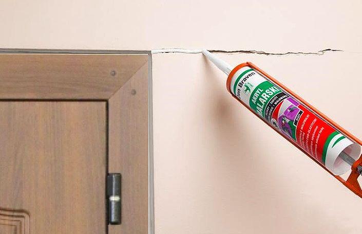 герметик для трещин в стене