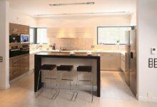 Фото Кухня с островом: виды, размеры кухонного острова
