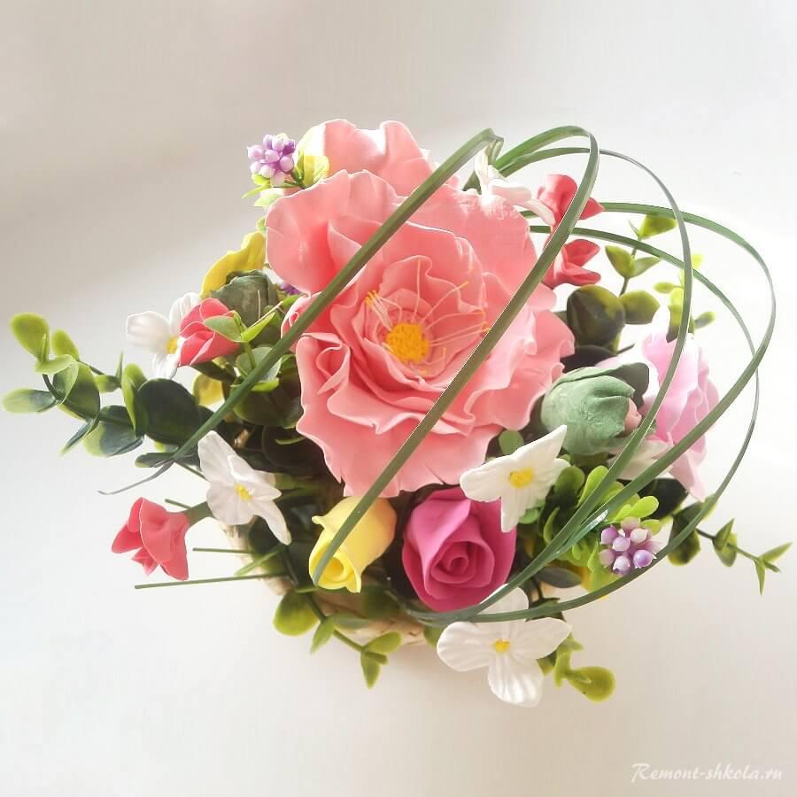 Искусство аранжировки цветов - икебана (生 け 花)