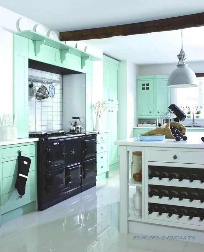 Каким цветом выбрать кухонный гарнитур фото