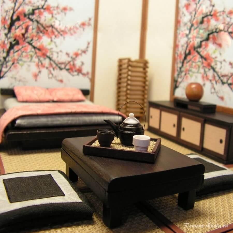 Японский столик для чаепития