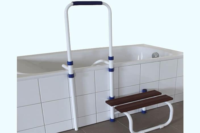 Лестница для ванной для пожилых