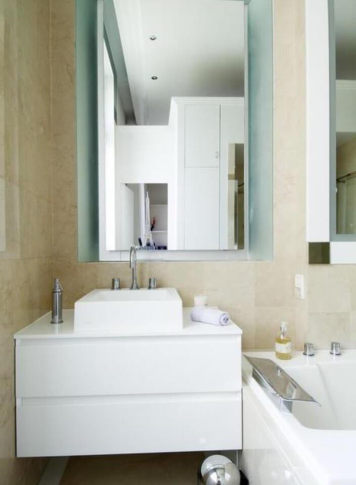 Идеи для ванной комнаты маленького размера под камень