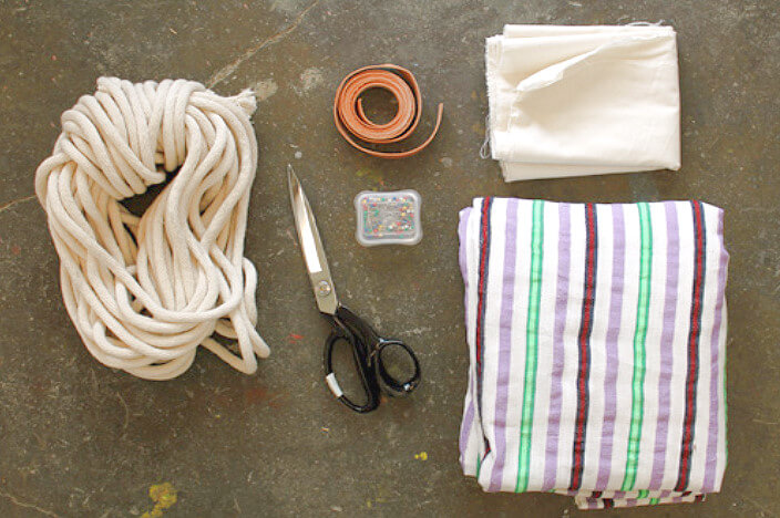 Материалы для изготовления гамака
