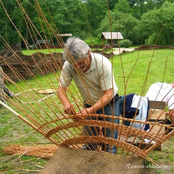 Старинная технология плетения