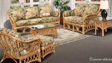 Фото Мебель из ротанга и плетеная мебель: в чем разница?